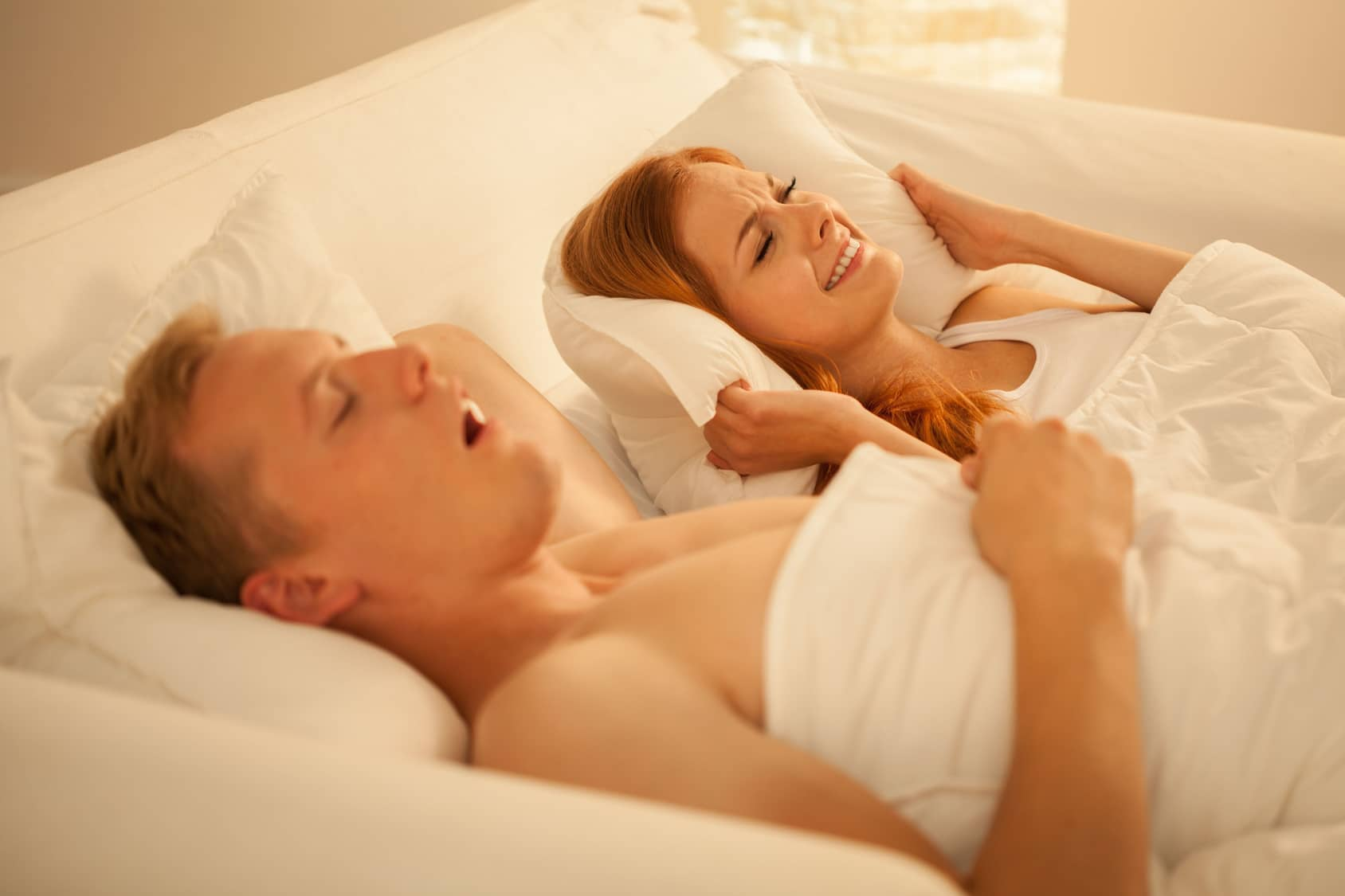 Snoring is a serious but treatable condition